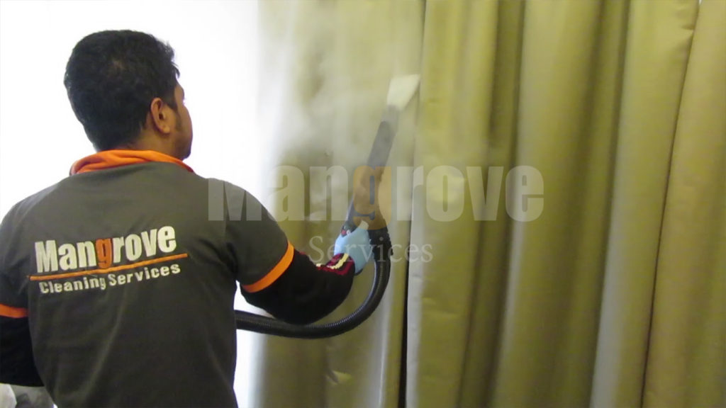 Curtain cleaning Steam Cleaning