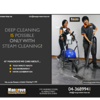 Deep Cleaning with Steam Cleaning in Dubai