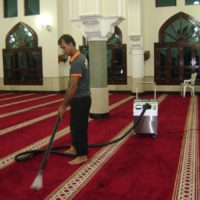 Steam Cleaning Of Carpets in a Mosque in Dubai