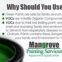 Green Paints in Dubai By Mangrove Cleaning Services