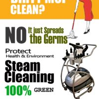 Upholstery Cleaning Through Deep Steam Cleaning